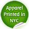 Apparel Printed in NYC